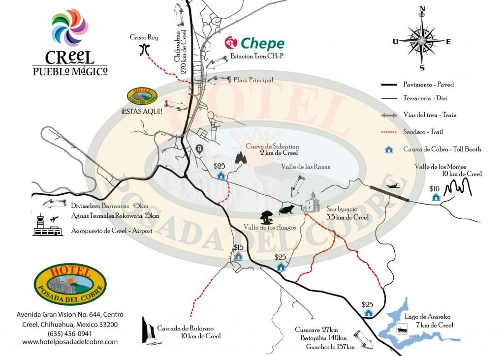 mapa-creel-pueblo-magico-hotel-posada-del-cobre